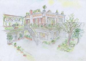 La villa des créateurs par Coop-Cité